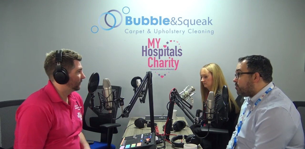 Podcast with My Hospitals Charity